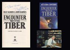 EDWIN BUZZ ALDRIN Autographed Signed Book Apollo 11 NASA Astronaut Lunar Moon