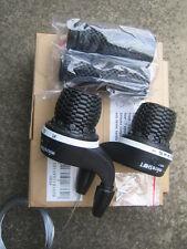 Shimano compatible Set Cycle / Bike Microshift 7 + 3 Twist Grip Gear Shifters