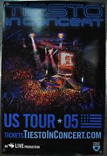 Tiesto In Concert US Tour 2005 LA Poster 24 x 36 Promo