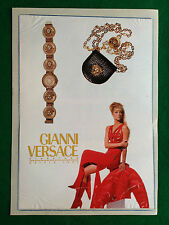 OG52 Pubblicità Advertising Werbung Clipping 1992 GIANNI VERSACE
