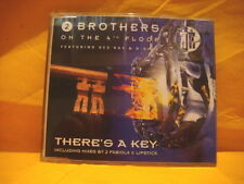 MAXI Single CD 2 BROTHERS ON THE 4TH FLOOR There's A Key 8TR 1996 eurodance