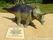 Carnegie Safari TRICERATOPS DINOSAUR Solid plastic toy Jurassic animal Y134  💥
