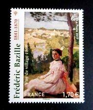 "2017_TIMBRE YT 5122 NEUF** FREDERIC BAZILLE ""1841-1870""_""Vue du village-1868""."