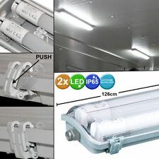 Panel LED lámparas de oficina de trabajo garajes ráster iluminación taller colgantes