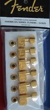 GENUINE Fender SCHALLER American Series Tuners TELE Strat GOLD Deluxe USA & Impo