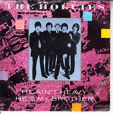 """THE HOLLIES  He Ain't Heavy, He's My Brother PICTURE SLEEVE 7"""" 45 rpm record"""