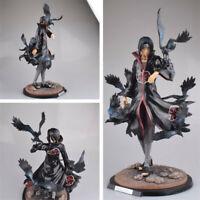 Naruto Akatsuki Itachi Uchiha Crow Itachi Uchiha PVC Ver. Statue Figuren Figur