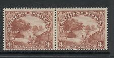 SOUTH AFRICA-1936 4d Brown MONKEY IN TREE  variety Sg 46c-46ca - mounted mint