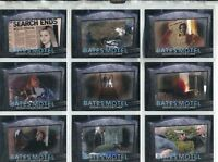 Bates Motel Season 2 Complete Rest In Peace Chase Card Set RP1-9