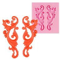 3D Relief Silicone Fondant Chocolate Cake Decorating Sugarcraft Baking Diy Mould