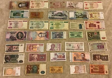 Lot Of 35 X Banknotes. Worldwide Set. Collectible Assortment.