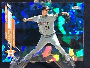 Zach Greinke 2020 Topps Chrome Update Sapphire #U-87 Houston Astros Card