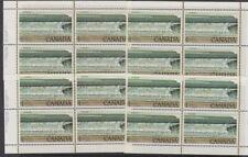 Canada, 1979 Matched Corner Blocks of 4, Fundy National Park 726 MNH