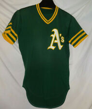 Vintage Bill North Oakland Athletics A's Rawlings Game Used Worn Baseball Jersey