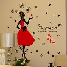 Girl adesivi da parete casa Decorativo Da Muro, Decalcomania per salotto
