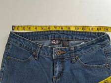 City Streets Size 3 Junior Jeans Waist 28 Length 36 Low rise Inseam 30 #J7