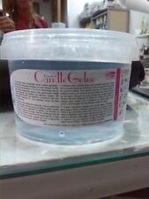 CANDELE - Cera gel per candele - 400 g trasparente brillante