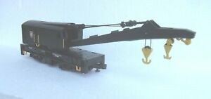 MTH O Scale/Gauge 2- or 3-Rail PRR 250-Ton Crane Car, #20-90005d.