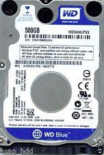 WESTERN DIGITAL SATA 500GB WD5000LPVX-80V0TT0 DCM: HAMTJAB