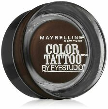 Maybelline New York Eyestudio ColorTattoo Leather 24HR Cream Gel Eye Shadow C...