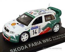 1/43 SKODA FABIA WRC AURIOL TOUR DE CORSE 2003 RALLY IXO ALTAYA DIECAST