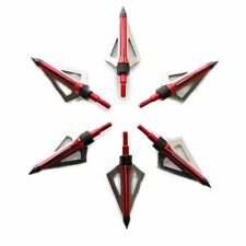 6 Frecce Tiro con l'arco broadheads arco compound arco ricurvo sganciamento