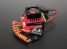 TRACKSTAR TURBO 80A SENSORED BRUSHLESS ESC 1/10 1/12 ROAR APPROVE RC ON OFF ROAD