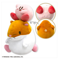 taito Kirby of the Stars PUPUPU FRIENDS Rick Kirby BIG stuffed Soft plush japan