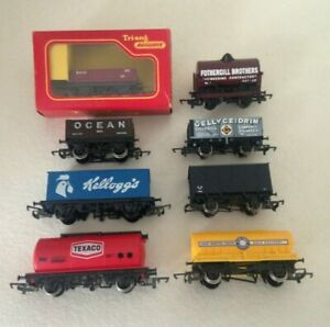 Nice Rolling Stock Group Of 8 x Hornby / Tri-ang OO Gauge Wagons.