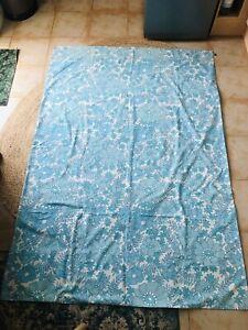 60s 70s Vintage Floral Retro Sheet Duvet Cover Fabric