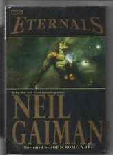 Eternals Neil Gaiman & John Romita Jr - Hardcover Sealed 1st Print 2003