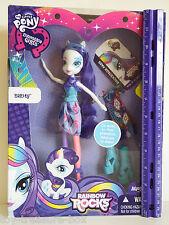 My Little Pony Equestria Girls RAINBOW ROCKS RARITY Doll & her Accessories