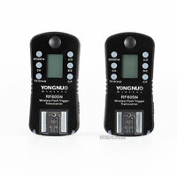 YONGNUO RF605N Flash Trigger set wireless with LCD For Nikon Camera