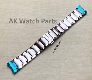Strap Fits Emporio Armani AR2434/AR2430/AR2448/AR2457/AR2458 Bracelet/Link