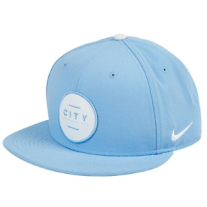 Man City Men's Hat Nike Embroidered Club Name Hat - Light Blue - New