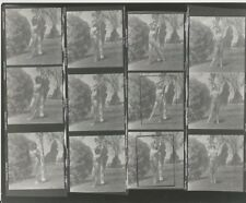 Hendrickson PHOTO Contact Proof Sheet & Negatives Model Posing in Sexy Swimsuit