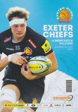 EXETER CHIEFS v NEWCASTLE AVIVA PREMIERSHIP SEMI FINAL RUGBY PROGRAMME 2018