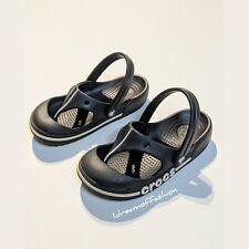 CROCS Crocband Toe Bumper Flip Sandals Size 10/11