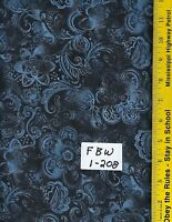 """DCW ROYAL BLUE 108/"""" EXTRA WIDE QUILT BACKING DREAM COTTON BTY 100/% COTTON"""