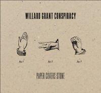 WILLARD GRANT CONSPIRACY - PAPER COVERS STONE  CD NEW