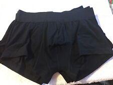 """ASOS Boxer Trunks 5 Pack black Men's size S waist 30-32"""" (SK63/19)"""