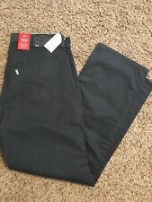 NWT LEVIS 514 PERFORMANCE STRAIGHT DARK GRAY JEANS MENS 33X30 005140746 MSRP $60