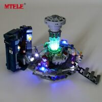 LED Light Up Kit For Doctor Who LEGO 21304 Ideas Series Lighting building Set