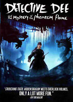 Detective Dee: Mystery of the Phantom Flame DVD NEW