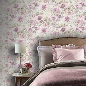 Arthouse Vintage Floral Multi Wallpaper 906801 (Unused /Sealed)