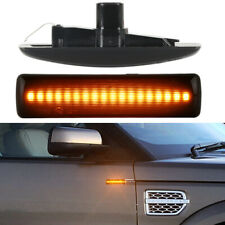 For 2005-2009 Land Rover LR2 LR3 LR4 L320 LED Side Marker Blinker Signal Lights