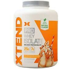 Scivation Xtend Pro Whey Isolate Salted Caramel Shake 5 lbs