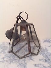 Vintage French Lantern Style Ceiling Light