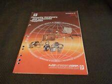 ILCO Security Hardware Locksmith Supplies Catalog Keys Padlocks Locks