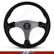 Octane Sports Steering Wheel Titanium Spokes 350mm ADR Approved